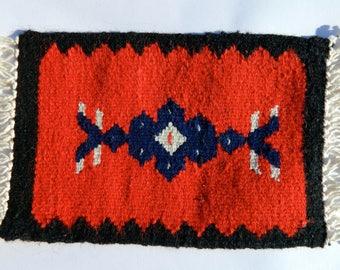 Small kilim rug, Kilim Placemat, Handmade in Albania