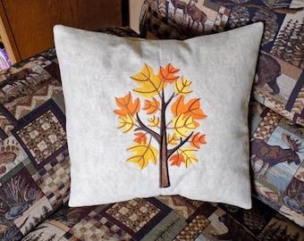 Fall Tree 6 Toss Pillow
