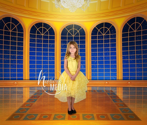Beauty And The Beast Inspired Ball Room Girls Princess Fairy