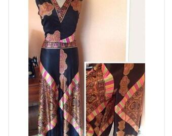 Vintage 1970s Amazing jumpsuit best fit S/M