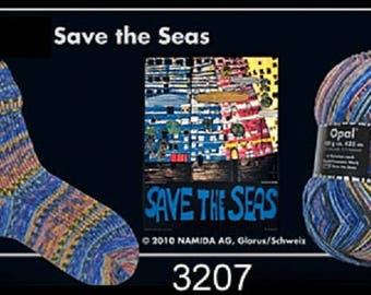 Opal Sock Yarn Hundertwasser, 100g/465yds, #3207