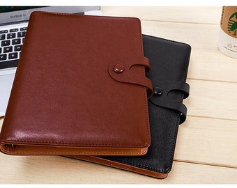 A5 Business Diary 6 ring binder cover with standard notebook, organiser, filofax, diary, journal, journal cover, kikkik