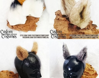Furry Ears. All shapes and sizes!