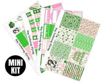 Lucky Mini Weekly Kit | 95+ Planner Stickers