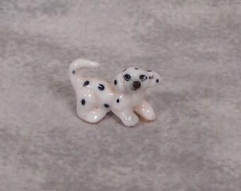 Tiny Dalmatian Puppy Vintage So Sweet