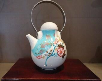 Original porcelain Flower In the Sky pattern teapot