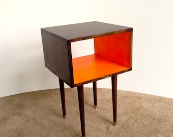 FREE SHIPPING!!!  The Joilet Side Table...Mid Century Modern Side Table Furniture Midcentury Bed Side Table End Table