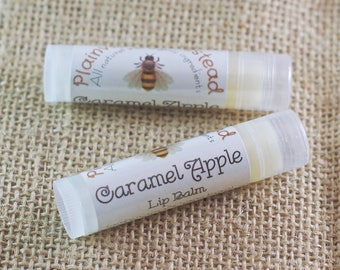 Caramel Apple Lip Balm || Organic Lip Balm
