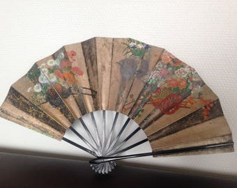 Very old hand painted fan