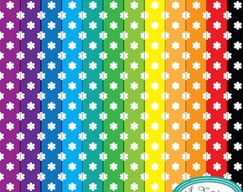 Digital paper, floral digital paper, bright colors digital papers and  backgrounds, multicolored digital paper, scrapbook paper P186