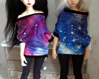 "clothes set ""galaxy spirit"" for minifee/small msd"