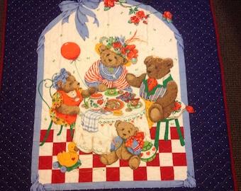 Teddy Bears at Tea Time Quilt