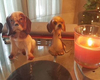 Dog figurines