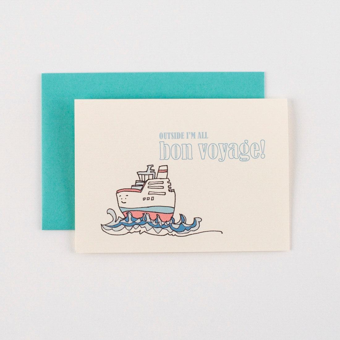 Tugboat bon voyage greeting card description bon voyage m4hsunfo