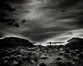 Landscape Photography Art - Monochrome Modern Wall Art - Black and White Fine Art Photography