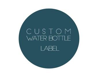 Water Bottle Label/ Happy Birthday Water Bottle Label/Baby Shower Water Bottle Label/Birthday/Birthday Water Bottle Label/Printable/Label