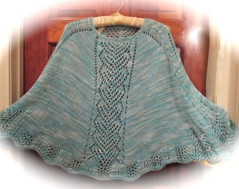 REVISED Pdf DELOVERLY Summer Poncho Pattern