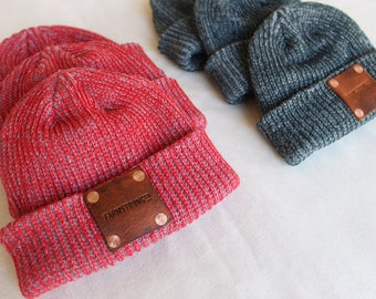 Red FarmStrong Beanie