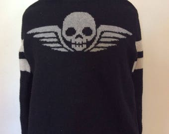 Flying Skull Sweater - S