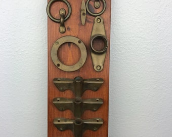 Vintage, Solid Brass, Boat attachments