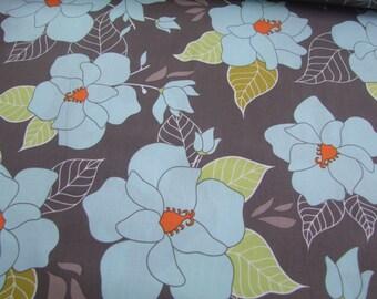 Gray Lula Main Fabric by the yard Lula Magnolia Quilted Fish Riley Blake Designs