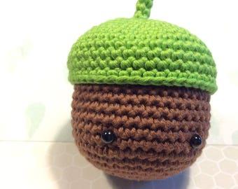 Crochet Acorn