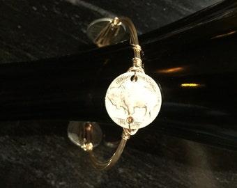 Buffalo Coin Bracelet