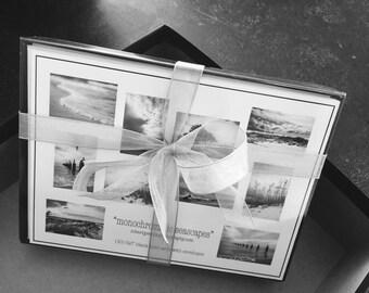 "Robert J Petrillo's ""monochromatic seascapes"" Notecards"