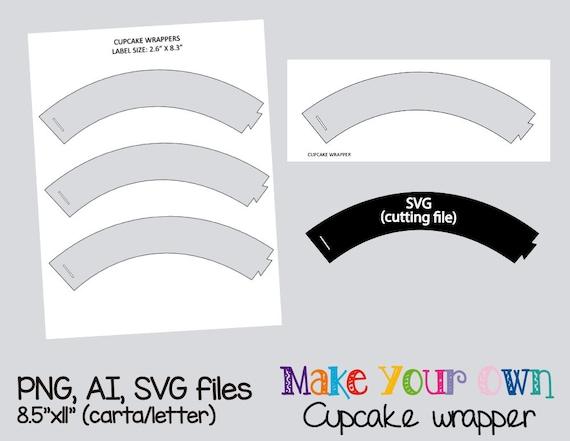 Plain cupcake wrapper template collage sheet template toneelgroepblik Gallery