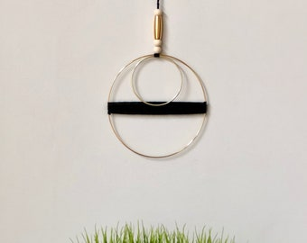 Modern Double Ring Yarn Hanging