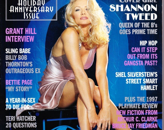 Vintage Playboy Magazine January 1998 with Shannon Tweed
