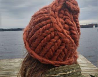 Large Braided Hat
