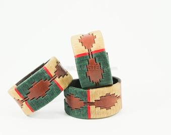 Southwest Patterened wrist cuff, bracelet, leather bracelet, cuff, cuff bracelet, leather, gift for her, leather wristband, bracelets
