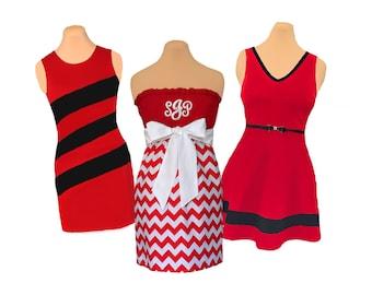 Red + White/Black