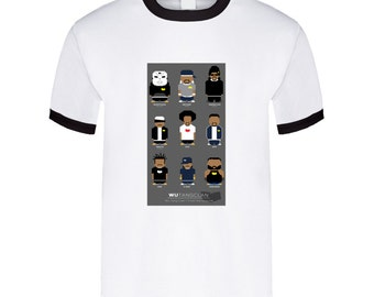 Wu Tang Clan Cartoon Tshirt
