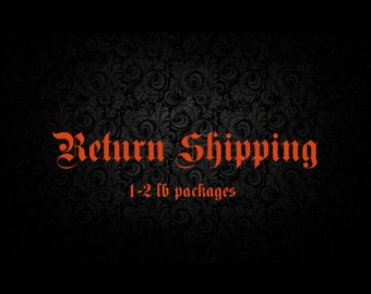 Return Shipping Fee (1-2 lbs)