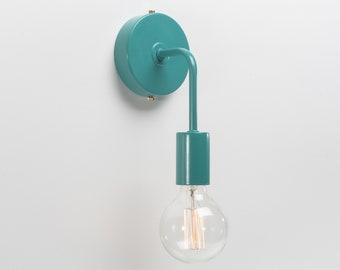 Minimalist Color Wall Sconce | Blue | Retro | Loft | Industrial | Lamp