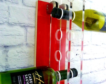 Wall Mounted Modern Wine Rack