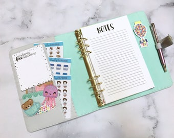 NOTES - Planner Inserts - Planner inserts for Large/A5 Planners Filofax or Kikki K