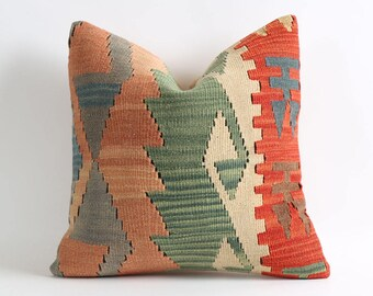 tribal rug, moroccan, boho pillow, floor rug, cushion, handmade kilim, pillow cover, throw pillows, kilim pillow cover, wool, kelim pillow