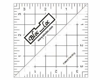 "Half Square Triangle Ruler  - HST 3.5"" - HST35"