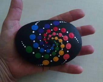 Mandala Rock - Galaxy