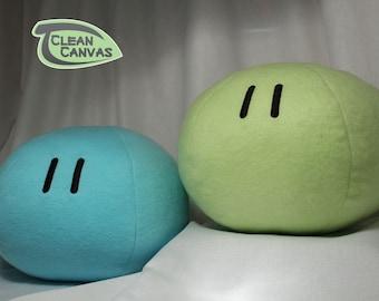 Clannad Dango Plush, Basic Dango Pillow, kawaii food, Mochi Plush, Clannad Cosplay - Hand-made - size Large