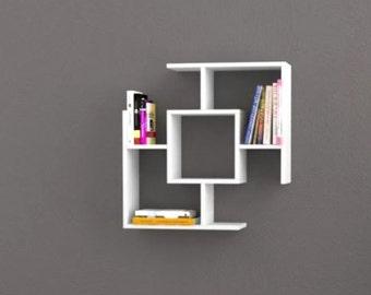 floating Shelves-floating shelf-hanging shelf-bookcase-shelfwooden shelves