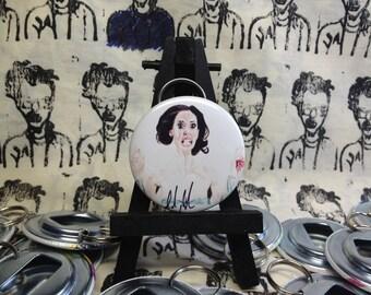Courtney Shane Rose McGowan Jawbreaker original art Bottle Opener