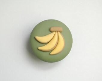 Bananas Cupcake Tutorial