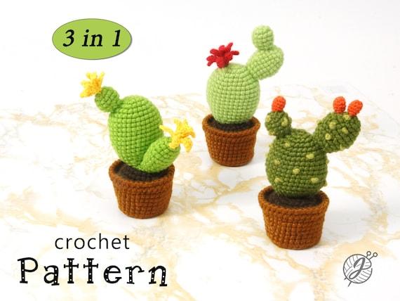 Amigurumi Duck Tutorial : Cactus crochet pattern amigurumi cactus diy tutorial crochet