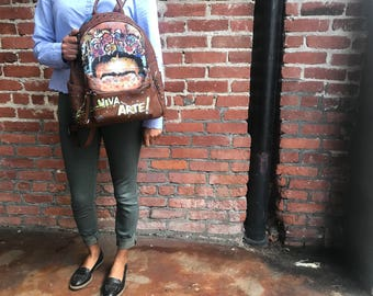Frida Urban Backpack Purse