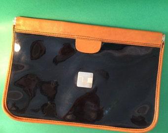 TED LAPIDUS VINTAGE pochette bag clutch
