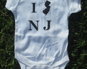 New Jersey Baby Bodysuit